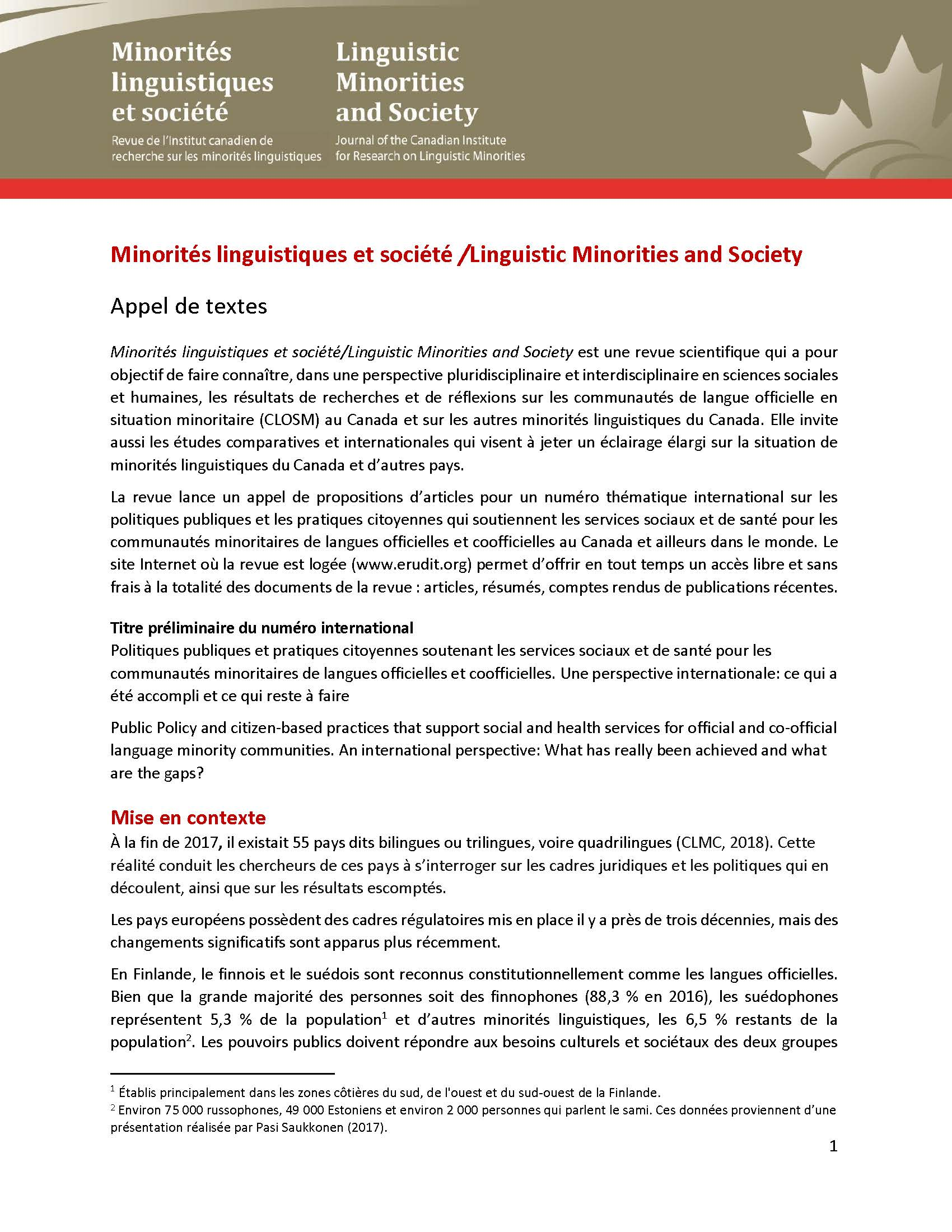 Appel Propositions Articles 28 03 2019 FR FINALE Page 1
